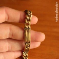 Antigüedades: ANTIGUA HEBILLA CIERRE DE METAL PARA CAPA. Lote 157233630