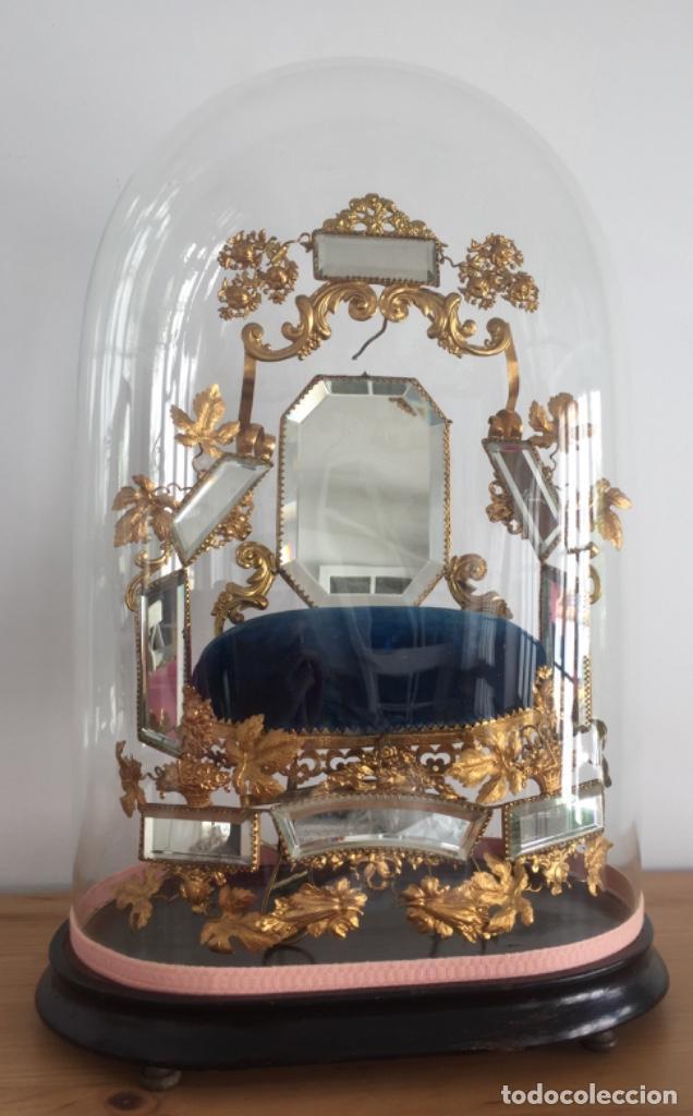 ANTIGUO FANAL FRANCÉS SIGLO XIX (Antigüedades - Varios)