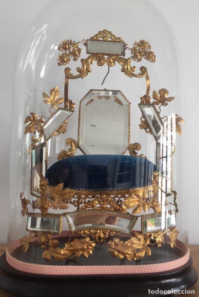 Antigüedades: ANTIGUO FANAL FRANCÉS SIGLO XIX - Foto 5 - 157233646