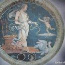 Antigüedades: ANTIGUO PLATOS GRIEGOS . JUEGO DE DOS PLATOS O BAJO PLATO, CERÁMICA, LOZA ESMALTADA PRECIOSA ESCENA. Lote 107410955