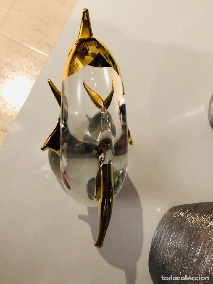 Antigüedades: Figura cristal murano antigua rara made in italy 30 cm - Foto 6 - 157260685