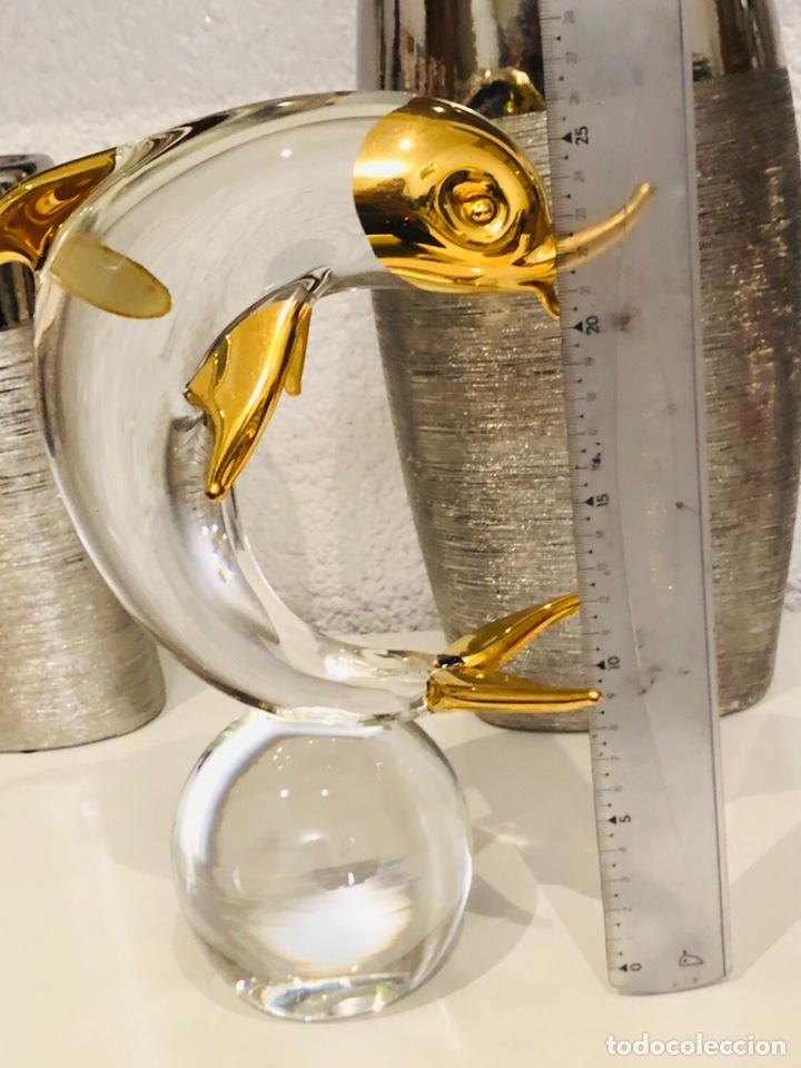 Antigüedades: Figura cristal murano antigua rara made in italy 30 cm - Foto 7 - 157260685