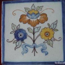 Antiguidades: AZULEJO RUIZ DE LUNA TALAVERA. Lote 157270686