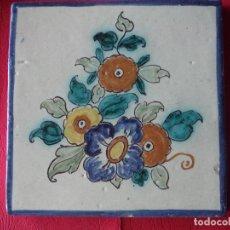 Antiguidades: AZULEJO RUIZ DE LUNA TALAVERA. Lote 157270926