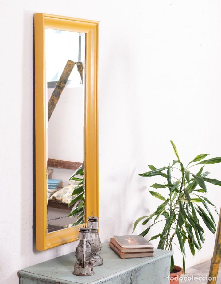Antigüedades: Espejo Antiguo Restaurado Prato - Foto 3 - 157340138