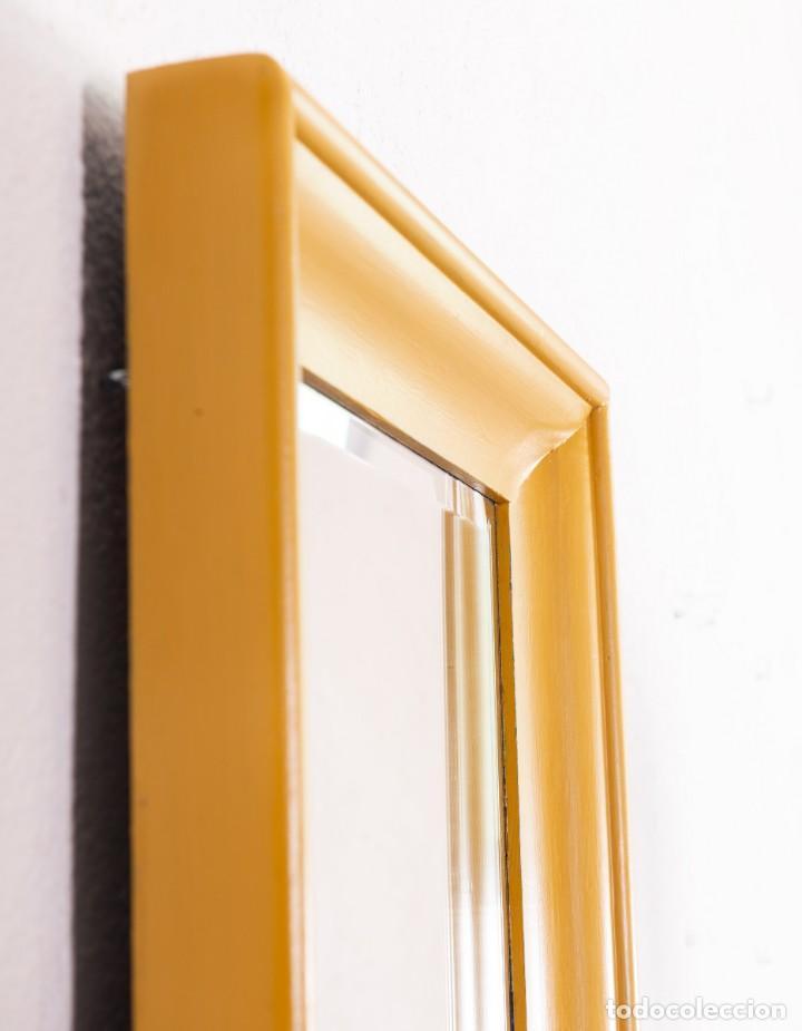 Antigüedades: Espejo Antiguo Restaurado Prato - Foto 4 - 157340138