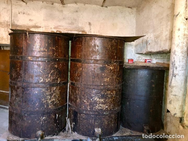 Antigüedades: Bidones Aceite grandes - Foto 2 - 157399202