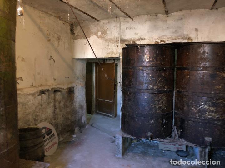 Antigüedades: Bidones Aceite grandes - Foto 3 - 157399202