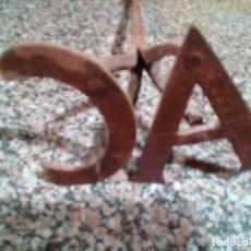 Antigüedades: HIERRO PARA MARCAR GANADO . Lote 157401470