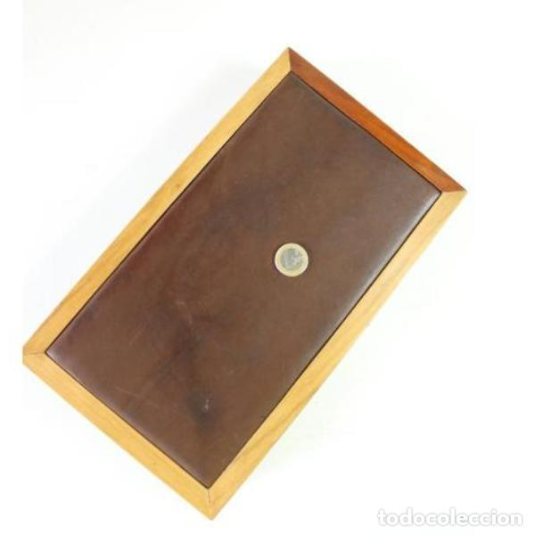 Antigüedades: Antigua tabaquera purera de madera - Foto 6 - 157594938