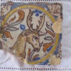 Antigüedades: AZULEJO DEL SIGLO XVIII. Lote 157616602
