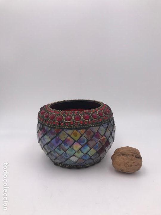 Antigüedades: Portavelas de cristal - Foto 3 - 157693866