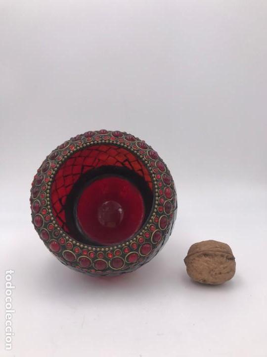 Antigüedades: Portavelas de cristal - Foto 4 - 157693866