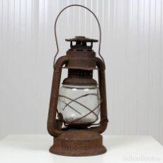 Antigüedades: FAROL DE TORMENTA, DE LA CASA FROWO, 1895.. Lote 157709058