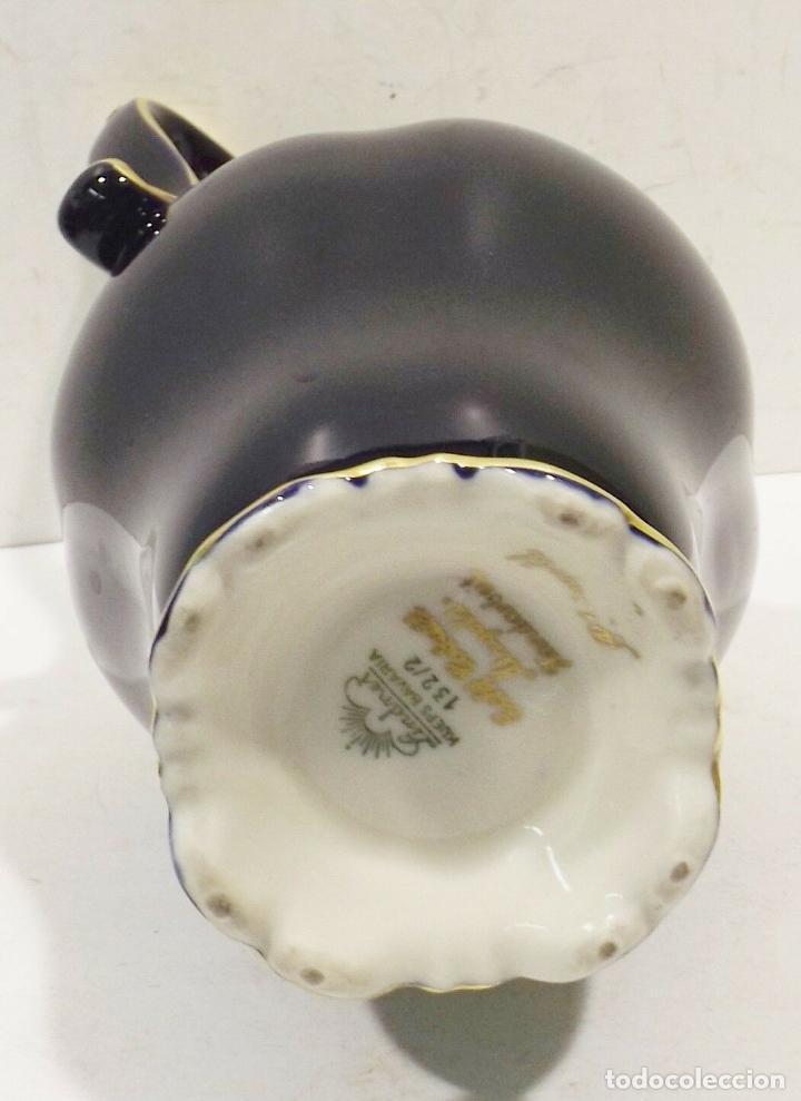 Antigüedades: ANTIGUA Y PRECIOSA Lindner Kueps Bavaria jarra genuino cobalto oro grabado oro Rin FIRMADA 125,00 € - Foto 3 - 157721134