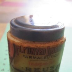 Antigüedades: VIEJO POTE DE CREMA DEL FARMACÉUTICO A. PUNYED LLOBERAS DE REUS. Lote 157726578