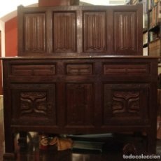 Antigüedades: MUEBLE ANTIGUO RESTAURADO ESTILO SERVILLETA. Lote 157733778