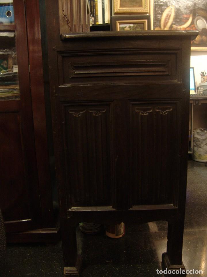 Antigüedades: Mueble antiguo restaurado estilo servilleta - Foto 2 - 157733778