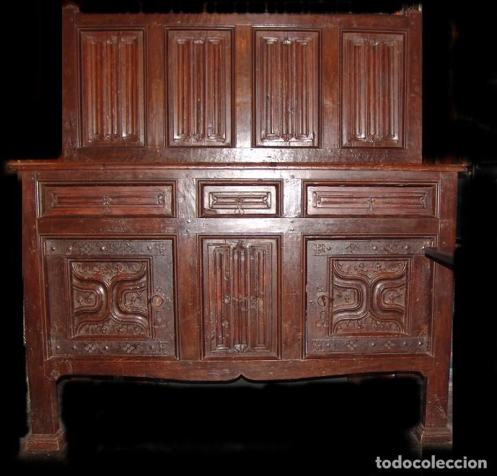 Antigüedades: Mueble antiguo restaurado estilo servilleta - Foto 3 - 157733778