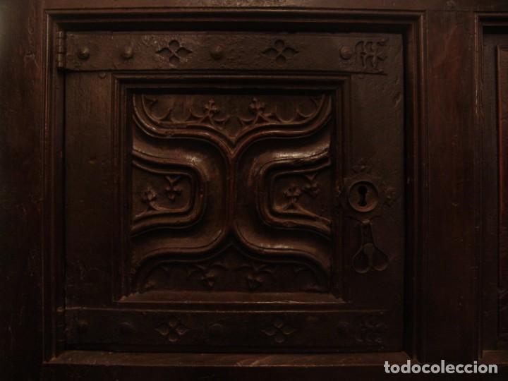 Antigüedades: Mueble antiguo restaurado estilo servilleta - Foto 7 - 157733778