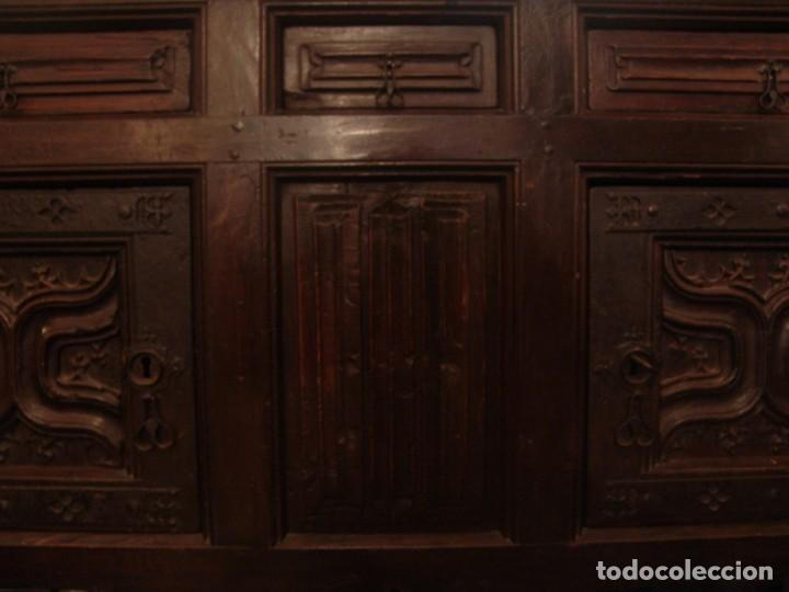 Antigüedades: Mueble antiguo restaurado estilo servilleta - Foto 9 - 157733778