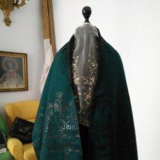 Antigüedades: ESTOLA PAÑOLON MANTON TRAJE REGIONAL BROCADO FALLERRA CHARRA BATURRA FAJIN VIRGEN ESPERANZA. Lote 157742762