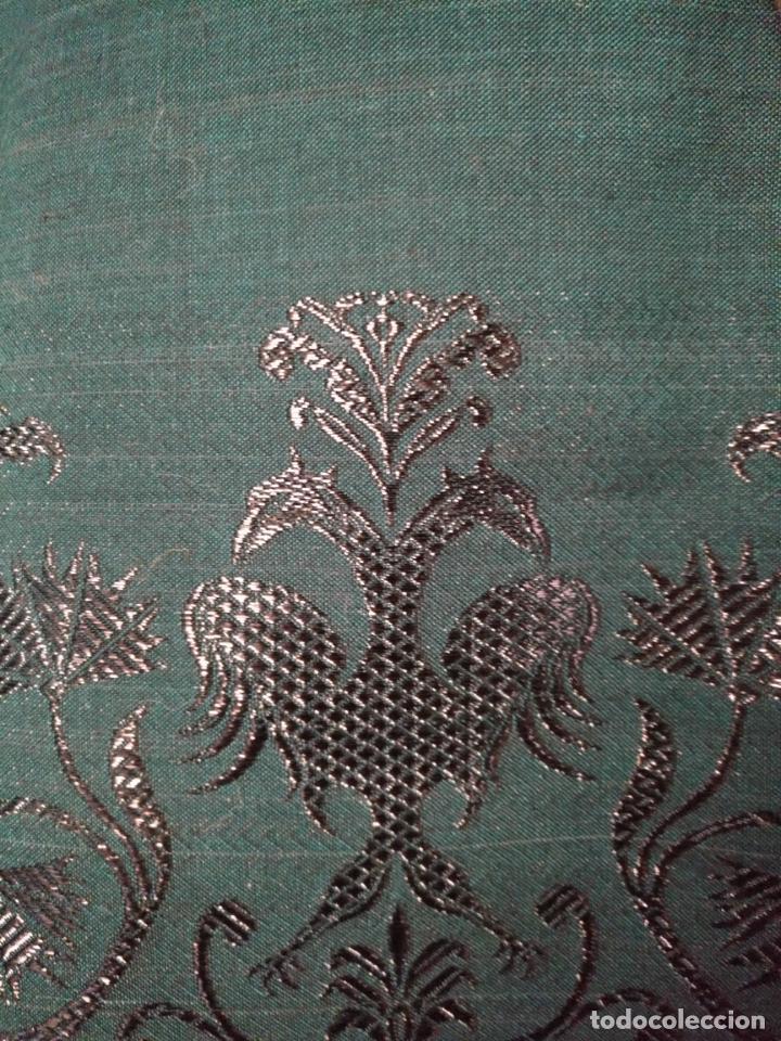 Antigüedades: Estola pañolon manton traje regional brocado fallerra charra baturra fajin virgen esperanza - Foto 12 - 157742762