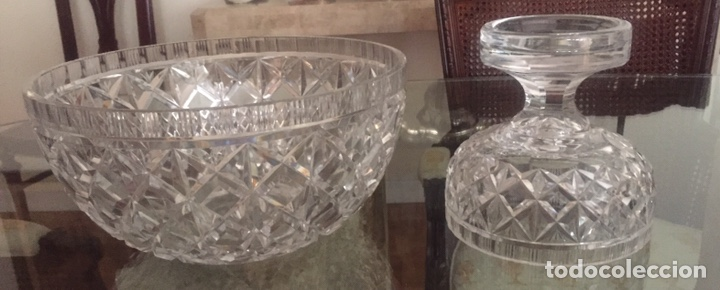 Antigüedades: Centro de mesa cristal Baccarat - Foto 2 - 157812668