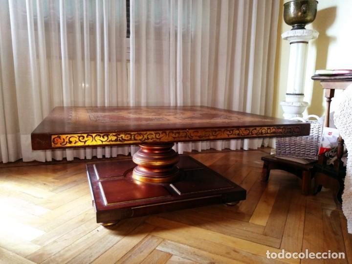 Antigüedades: Original mesa de madera maciza - Foto 2 - 157823946