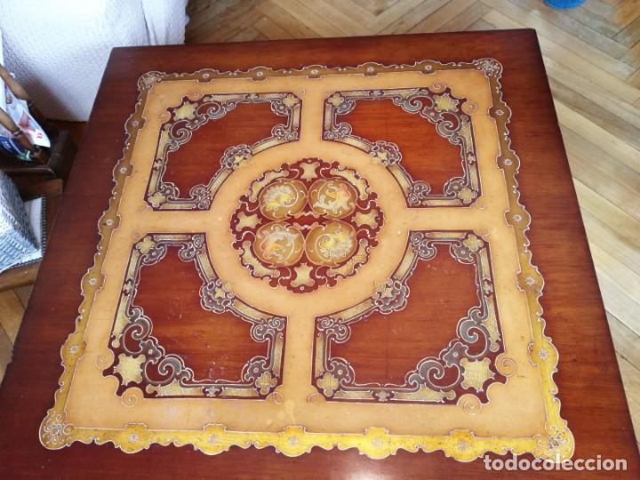 Antigüedades: Original mesa de madera maciza - Foto 3 - 157823946