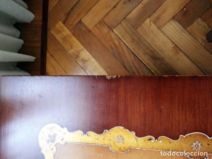 Antigüedades: Original mesa de madera maciza - Foto 6 - 157823946