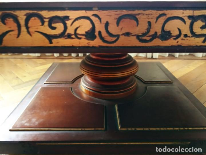Antigüedades: Original mesa de madera maciza - Foto 7 - 157823946