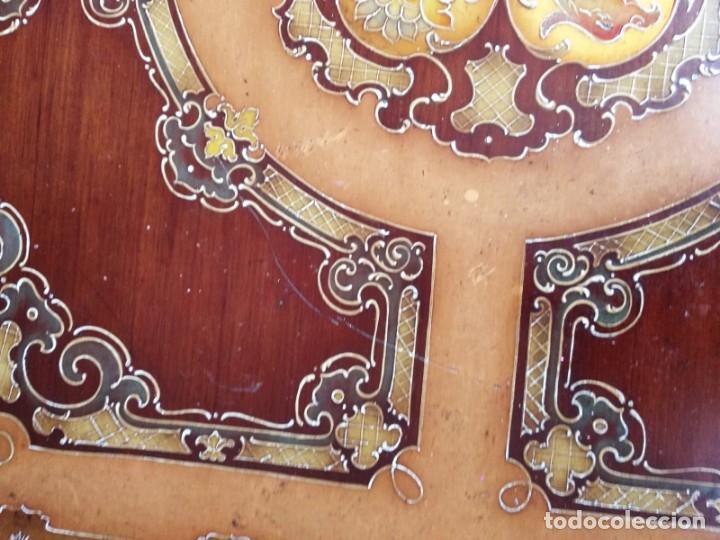 Antigüedades: Original mesa de madera maciza - Foto 8 - 157823946