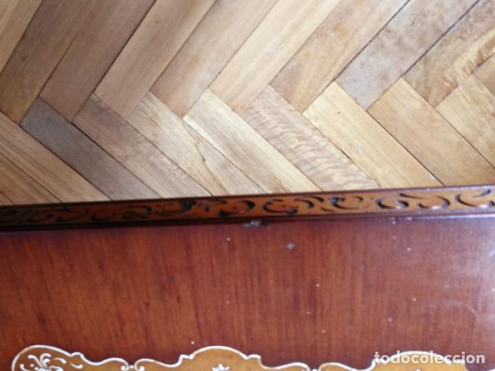 Antigüedades: Original mesa de madera maciza - Foto 9 - 157823946