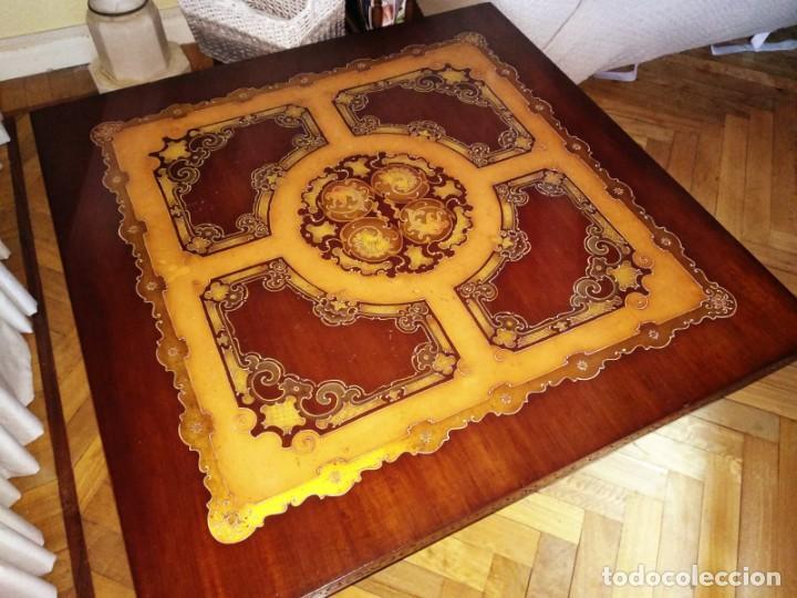Antigüedades: Original mesa de madera maciza - Foto 10 - 157823946