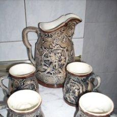 Antigüedades: JUEGO DE PORCELANA , NORUEGO O DINAMARCA. Lote 157844296