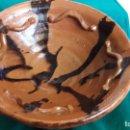 Antigüedades: PLATO O FRUTERO CERAMICA ANTIGUA CATALÁN. Lote 157878622