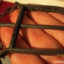 Antigüedades: ANTIGUA MEDALLA O EMBLEMA DE HIERRO ANTIQUISIMO . Lote 157881246