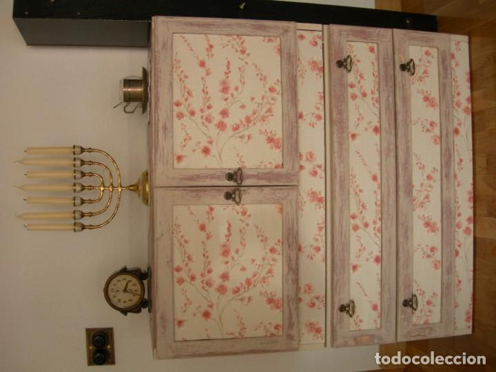 Antigüedades: Cajonera aparador mueble auxiliar vintage licorera - Foto 3 - 157881794