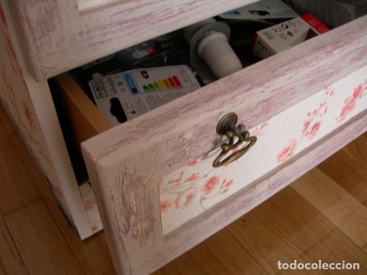 Antigüedades: Cajonera aparador mueble auxiliar vintage licorera - Foto 7 - 157881794