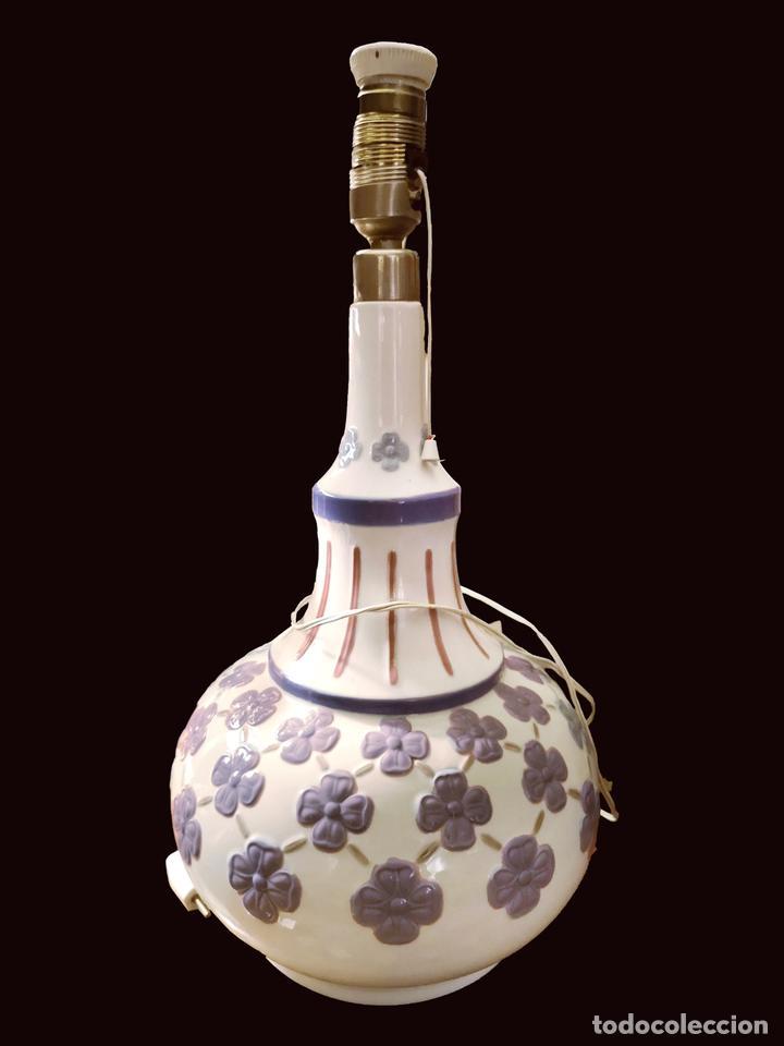 PRECIOSA LÁMPARA DE LLADRÓ, (Antigüedades - Iluminación - Lámparas Antiguas)