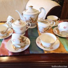 Antigüedades: JUEGO CAFÉ JAPONES. Lote 157896138