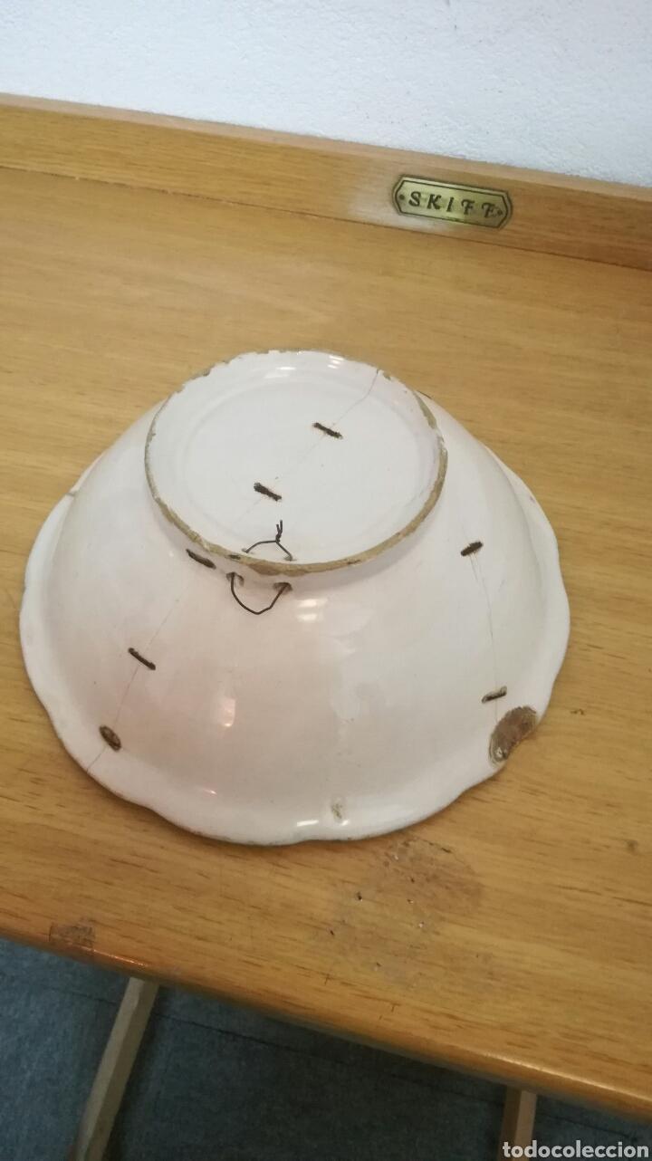 Antigüedades: Frutero de cerámica muy bonito - Foto 3 - 157905742