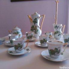 Antiquités: JUEGO DE CAFÉ SANTA CLARA. Lote 157933420
