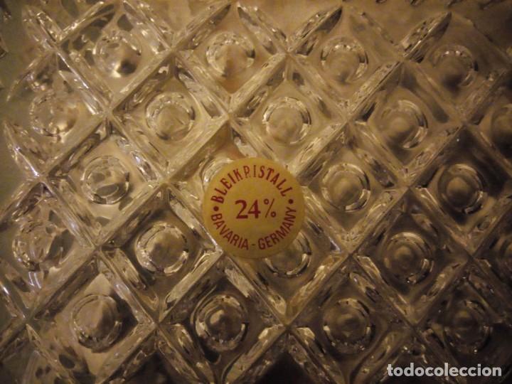 Antigüedades: Antiguo set de aperitivos vorsicht glas kabarett, bavaria made in west gwemany - Foto 6 - 157979286