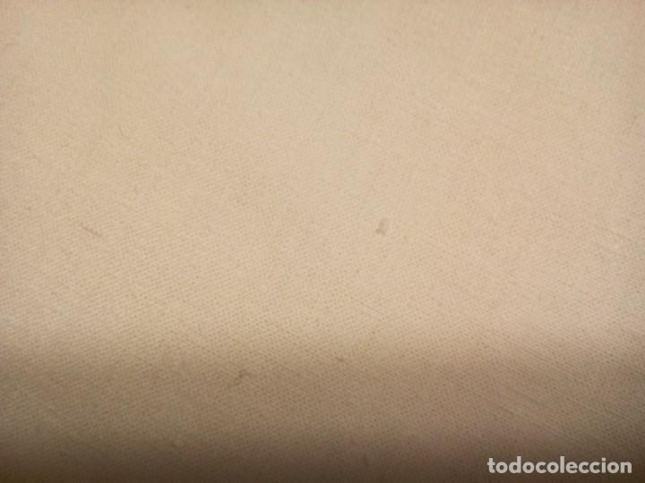 Antigüedades: *SABANA BAJERA. ALGODON.A ESTRENAR.2,40M MANTEL. (RF:609/b) - Foto 2 - 158020290