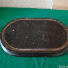 Antigüedades: BASE DE MADERA PARA FANAL. Lote 158021917
