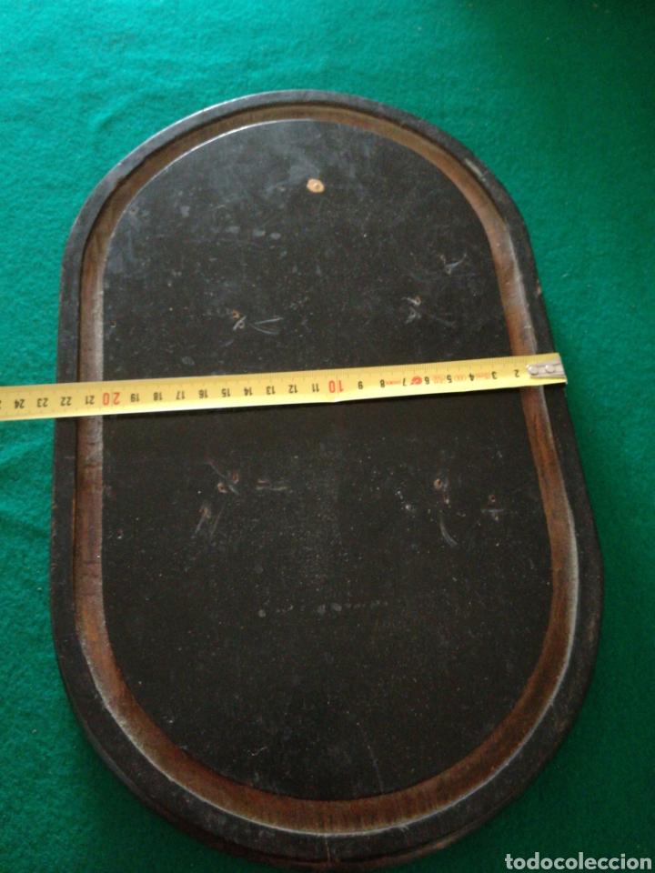 Antigüedades: BASE DE MADERA PARA FANAL - Foto 4 - 158021917