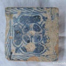 Antigüedades: AZULEJO GOTICO SIGLO XV. Lote 158063698