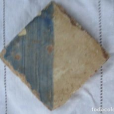 Antigüedades: AZULEJO GOTICO SIGLO XV. Lote 158066234